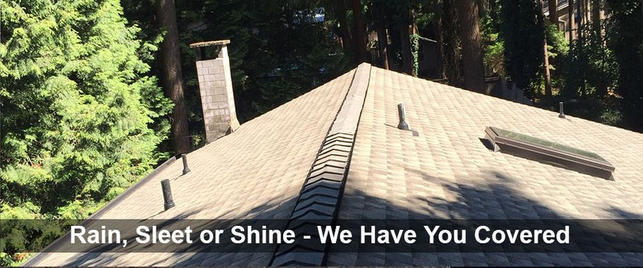 Rain, Sleet or Shine - We Have You Covered | Residential roofing