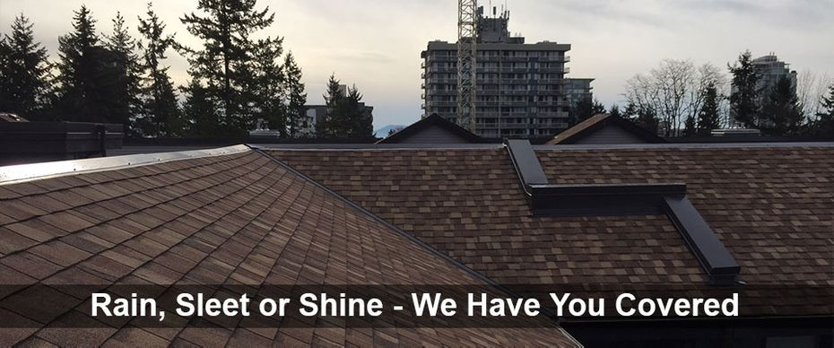 Rain, Sleet or Shine - We Have You Covered | Apartment roofing