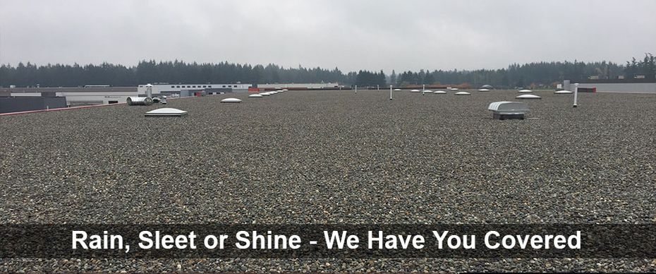 Rain, Sleet or Shine - We Have You Covered | EPDM roofing