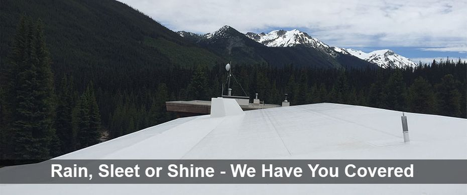 Rain, Sleet or Shine - We Have You Covered | Commercial TPO roofing